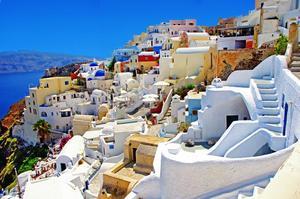 Visit Santorini Island (Thíra), Greece