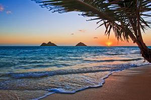 Relax on Lanikai Beach, Oahu, Hawaii