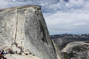 Hike Half Dome, Yosemite National Park, California