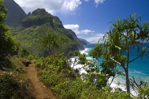Hike Kalalau Trail, Nā Pali Coast, Kauai, Hawaii