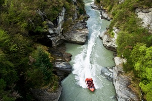 Go Jet Boating in New Zealand